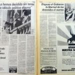 Clarín Política 3 de abril de 1982