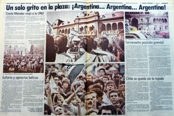 Diario Popular 3 de abril de 1982