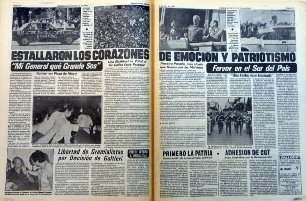 Crónica 3 de abril de 1982