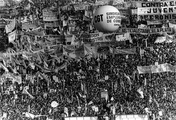 Marcha CGT 30 de marzo de 1982