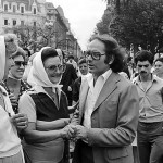 Madres y Abuelas de Plaza de Mayo con el Premio Nobel de la Paz, Adolfo Pérez Esquivel